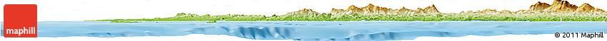 Physical Horizon Map of Agrigento