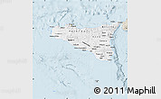 Classic Style Map of Sicilia