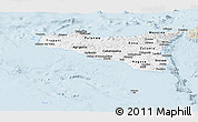 Classic Style Panoramic Map of Sicilia