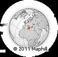 Outline Map of Ragusa
