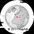 Outline Map of Grosseto