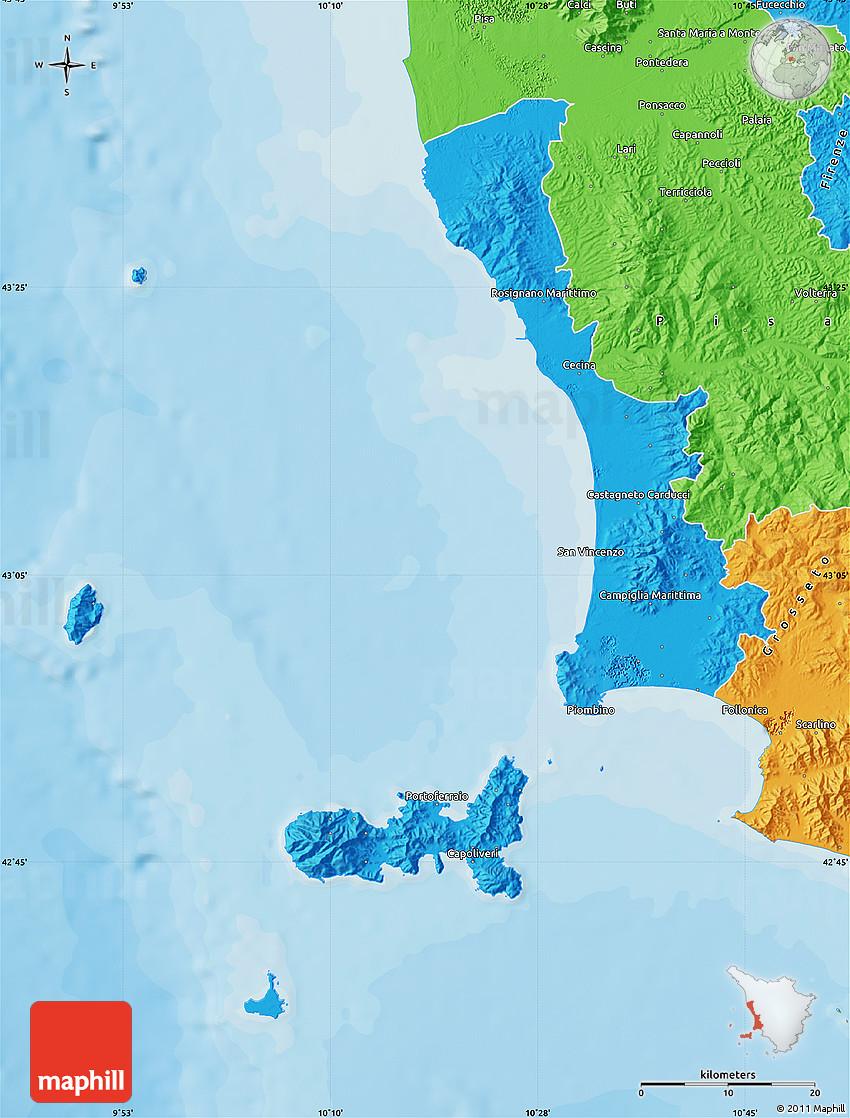 federnuoto toscana livorno map - photo#1