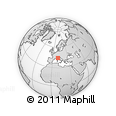 Outline Map of Massa-Carrara