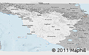 Gray Panoramic Map of Toscana