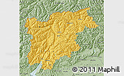 Savanna Style Map of Trentino-Alto Adige