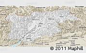 Classic Style Panoramic Map of Trentino-Alto Adige