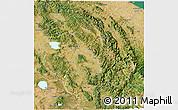 Satellite 3D Map of Umbria