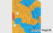 Political Map of Umbria