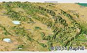 Satellite Panoramic Map of Umbria