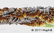 Physical Panoramic Map of Aosta