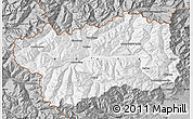 Gray Map of Valle d'Aosta