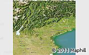 Satellite 3D Map of Veneto