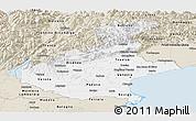 Classic Style Panoramic Map of Veneto