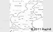 Blank Simple Map of Veneto
