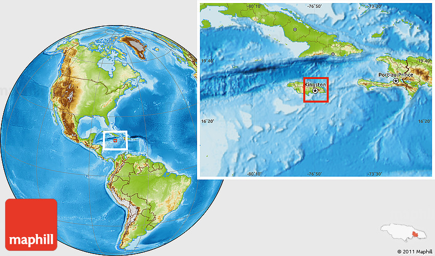 physical-location-map-of-saint-andrew-and-kingston North America Blank Political Map on central america blank political map, north america blank rivers map, north america blank continent, latin america blank political map,