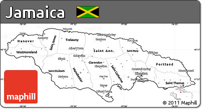 Free Printable Map Of Jamaica where is jamaica in world map 18 free ...