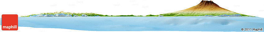 Physical Horizon Map of Jan Mayen