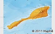 Political Shades Map of Jan Mayen