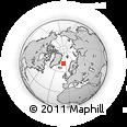 Outline Map of Jan Mayen