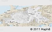 Classic Style Panoramic Map of Chubu