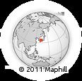 Outline Map of Chugoku