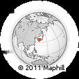Outline Map of Shimane