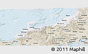 Classic Style Panoramic Map of Hokuriku