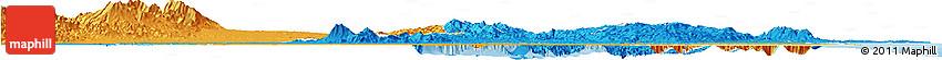 Political Horizon Map of Ibaraki