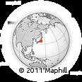 Outline Map of Ibaraki