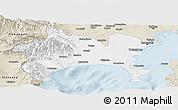 Classic Style Panoramic Map of Kanagawa