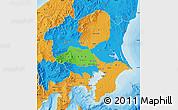 Political Map of Kanto