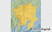 Savanna Style Map of Kanto