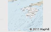 Classic Style Panoramic Map of Kyushu