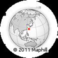 Outline Map of Ryukiu-Islands