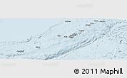 Classic Style Panoramic Map of Ryukiu-Islands