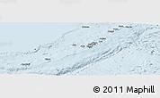Gray Panoramic Map of Ryukiu-Islands