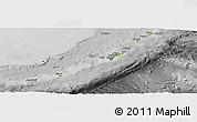 Physical Panoramic Map of Ryukiu-Islands, desaturated
