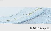 Physical Panoramic Map of Ryukiu-Islands, lighten