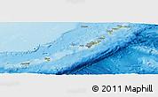 Physical Panoramic Map of Ryukiu-Islands