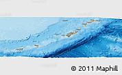 Political Panoramic Map of Ryukiu-Islands