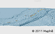 Savanna Style Panoramic Map of Ryukiu-Islands