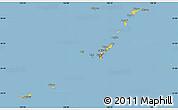 Savanna Style Simple Map of Ryukiu-Islands