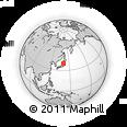 Outline Map of Tohoku