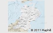 Classic Style Panoramic Map of Tohoku