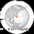 Outline Map of Shizuoka