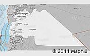 Gray 3D Map of Amman