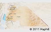 Satellite 3D Map of Amman, lighten
