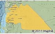 Savanna Style Map of Amman