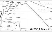 Blank Simple Map of Amman