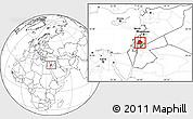 Blank Location Map of Irbid